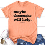 Maybe Champagne Will Help