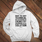 Alcohol Is A Solution Men's Apparel
