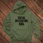 Social Distancing King Men's Apparel