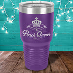 Peach Queen Laser Etched Tumbler