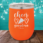 Cheer Grandma 12oz Stemless Wine Cup