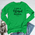 I Am A Blessed Mama Winter Apparel