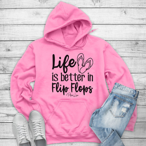 Life Is Better In Flip Flops Winter Apparel