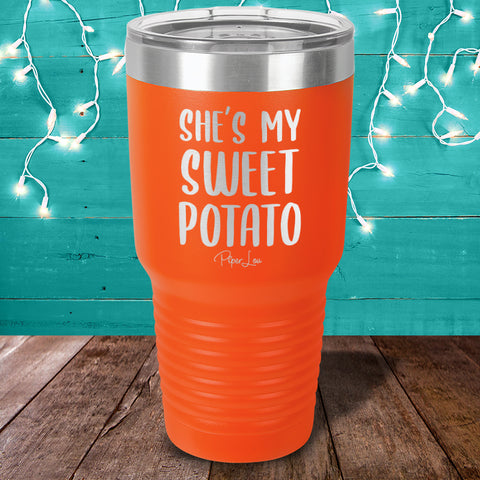 She's My Sweet Potato Laser Etched Tumbler