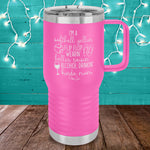 Softball Yellin' Kinda Mom 20oz Travel Mug