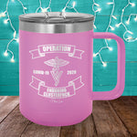 Operation Clusterfuck Veterinarian 15oz Coffee Mug Tumbler