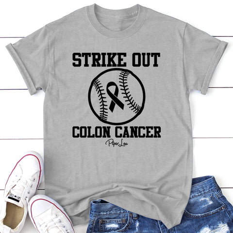100% Donation - Colon Cancer - Strike Out Apparel