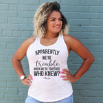 Trouble When We're Together Curvy Apparel