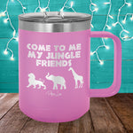 Jungle Friends 15oz Coffee Mug Tumbler