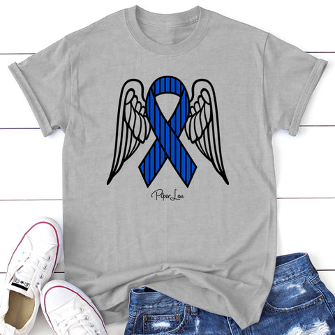 ALS Angel Wings Ribbon