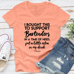 Bartender Relief | I Bought This To Support Bartenders