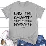 Undo The Calamity That Is Your Mammaries