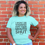 Someone Who Kept Their Mouth Shut Curvy Apparel