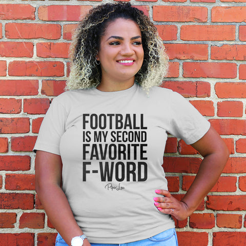 Football Is My Second Favorite F Word Curvy Apparel