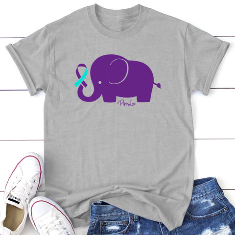 100% Donation - Suicide Awareness - Elephant Ribbon Apparel