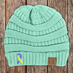 Down Syndrome Awareness Knit Beanie