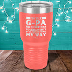 I'm The G Pa Laser Etched Tumbler