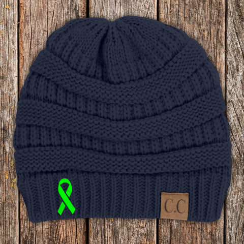 100% Donation - Muscular Dystrophy Awareness Knit Beanie