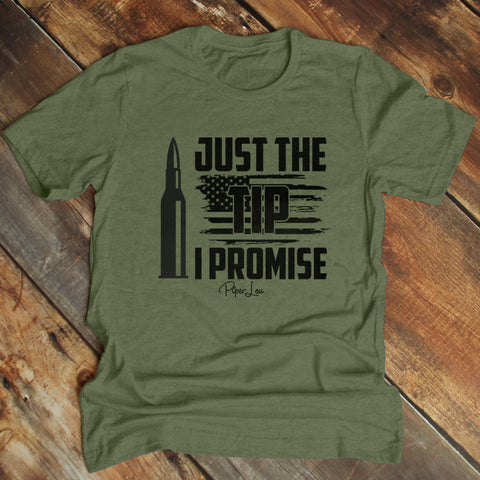 Just The Tip I Promise Men's Apparel
