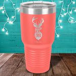 Best Buckin Mom Laser Etched Tumbler