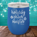 Holiday Cheer Meister 12oz Stemless Wine Cup