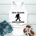 Social Distancing World Champion
