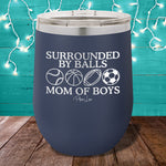 Surrounded By Balls Stemless Wine Cup