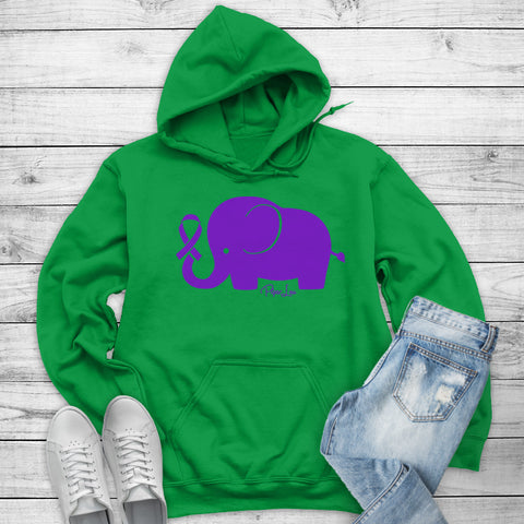 100% Donation - Crohn's Disease - Elephant Ribbon Winter Apparel