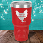 Life Is Better With Chickens Laser Etched Tumbler