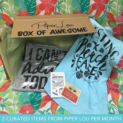 Piper Lou Box of Awesome Monthly Club