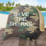 Beach Beach Save The Sharks Hat