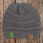 Liver Cancer Awareness Knit Beanie