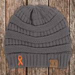 Kidney Cancer Awareness Knit Beanie