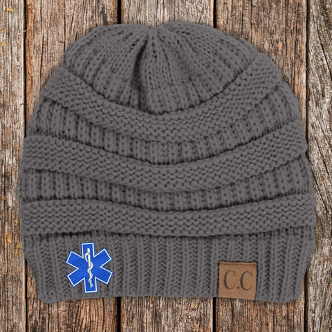 EMS C.C Thick Knit Soft Beanie