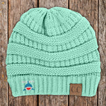 Donation - Beach Mama Shark C.C Thick Knit Soft Beanie