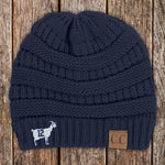 GOAT 12 C.C Thick Knit Soft Beanie