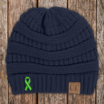 Donation - Lymphoma Awareness Knit Beanie