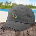 Autism Baby Footprints Hat