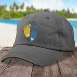 Down Syndrome Footprints Hat