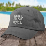 Single Dog Mom Nurse Hat