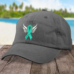 Donation - Cervical Cancer Angel Wings Hat
