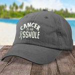 Lung Cancer Is An Asshole Hat