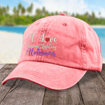 I Love Someone Fighting Alzheimers Hat