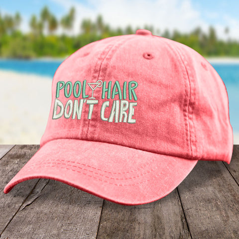 Pool Hair, Don't Care Hat