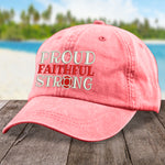 Fire fighting | Proud Faithful Strong Hat