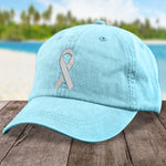 Donation - Brain Cancer Micro Ribbon Hat