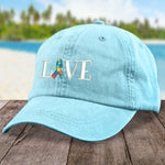 100% Donation - Autism Love Ribbon Hat
