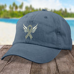 Lung Cancer Angel Wings Hat
