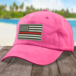 Red Line Flag Firefighting Hat