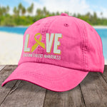 100% Donation - Endometriosis Love Ribbon Hat